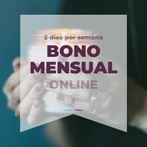 ONLINE Bono mensual [2 días por semana]